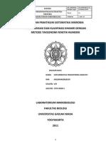 Laporan Taksonomi Numerik-fenetik Kapang