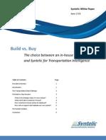 White Paper Build vs. Buy