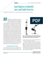 NASM Clinical Movement Analysis (PDF, 411K)