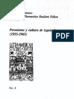 Peronismo y Cultura de Izquierda Altamirano