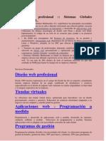 Diseño web profesional  Pilar Yumbo