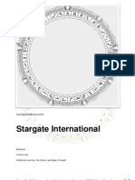 Stargate International Rulebook 1.0