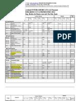 Formulario de Matrícula de REDES DE DATOS - I Q 2012 -APROBADA