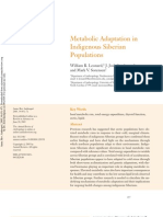 Metabolic Adaptation in Indigenous Siberian Populations