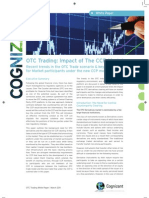 OTC Trading - Impact of CCP Cognizant White Paper