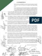 Pronunciamiento.dirigentes.autoridades.cajamarca.19Dic2011