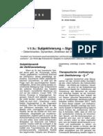 Determinanten, Dynamiken, Direktiven der Deliktverarbeitung