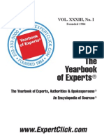 Yearbook of Experts, Authorities & Spokespersons 2012