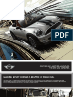MINI ROADSTER BROCHURE