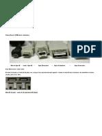 Tipos Diferentes de Conectores USB