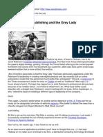 Big Data, Social Publishing and the Grey Lady