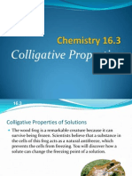 Colligative Properties Power Point