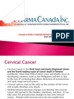 PharmaCanada - Cervical Cancer & Early Cancer Detection