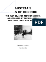 Austria's Days of Horror