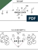 52-defense and 4-2-5 DEF