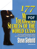 177 Mental Toughness Secrets of the World Class (FULL BOOK With 177 Secrets)