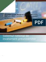 Noutati Legislative in Ceea Ce Priveste Organizarea Sistemului