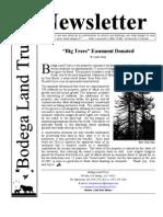 June 2006 Bodega Land Trust Newsletter