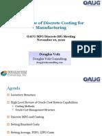 11-10 Costing for MFG v1