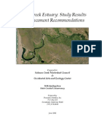Salmon Creek Estuary Study