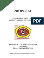 Proposal Ternak