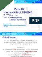 CBMP2203 (T1) Pembangunan Aplikasi Multimedia