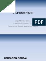 Ocupación Pleural-Taponamiento Cardiaco