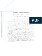 Wilfrid Hodges and Saharon Shelah- Naturality and definability II