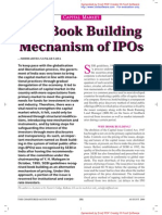 The book building process of an IPO