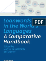 Loanwords in the world's languages- a comparative handbook Bởi Martin Haspelmath-Uri Tadmor