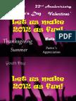 Let us make 2012 as fun!