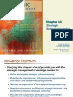 Strategic management Ch 13