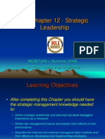 Strategic management Ch12 Strategic Leadership - Lachowicz