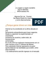 Formas de Ganar Dineo Online-mrencuestas.info