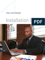 Fedex Ship Manager Installation Guide 05062009