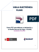 Cartilla Pdt Planilla Electronic A Plame 301111