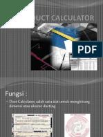 Duct Calculator (Revisi-1)