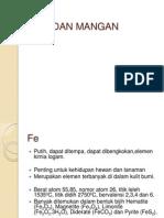 III. Besi Dan Mangan