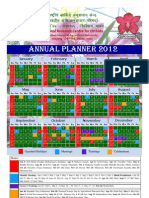 Annual Planner 2012 NRC Orchids