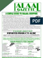 Halaal Gazette Vol 1 Issue 4