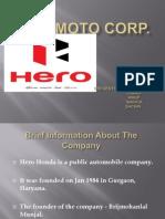 Hero Honda Motocorp Ppt