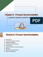 6. Process Synchronization