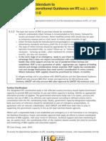 IYCF Insert Operational Guidance 6 3 2 Addendum 2010 Final