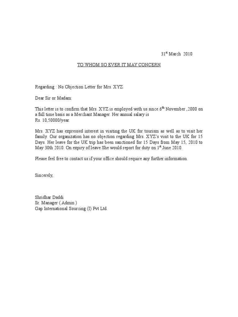 No objection letter sample for job waiter resume examples for no objection letter sample for job sample no objection letter certificate noc1 altavistaventures Gallery