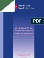 Dipositif de Controle Interne de l Ifaci