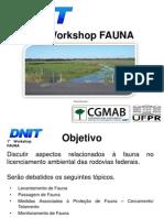 Workshop FAUNA