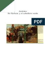Anónimo - Sir Gawain y El Caballero Verde