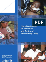 Global Action Plan for Prevention and Control of Pneumonia