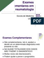 02. Reumato-2010-Exames complementares