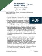 PA 2320-2 Root Cause Analysis (December 16, 2011)